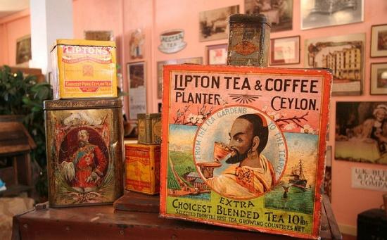 музей чая и кофе в Лондоне отличный музей