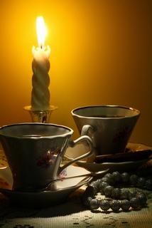пламенеющий кофе