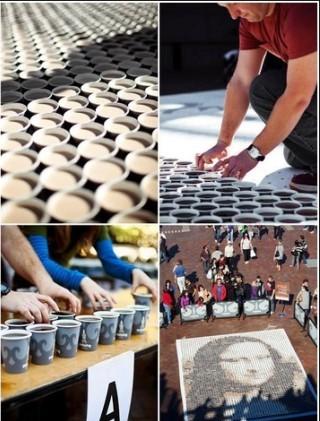 картины из кофе в Сиднее