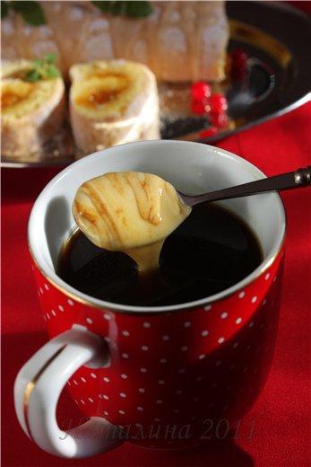 простой кофе рецепт  кофе с сыром