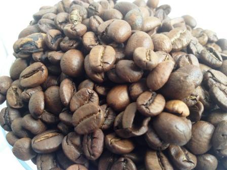 марка с запахом кофе
