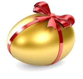 Кк красить яйца