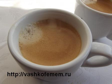 кофе эспрессо дома