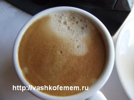 кофе эспрессо пенка