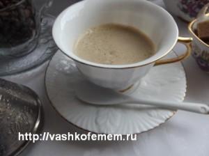 кофе с сахаром и молоком