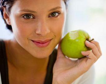 Маска для лица из яблока