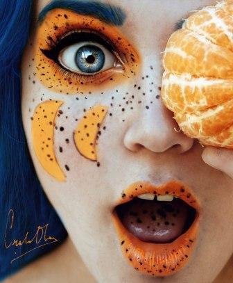 мандарин -девушказ