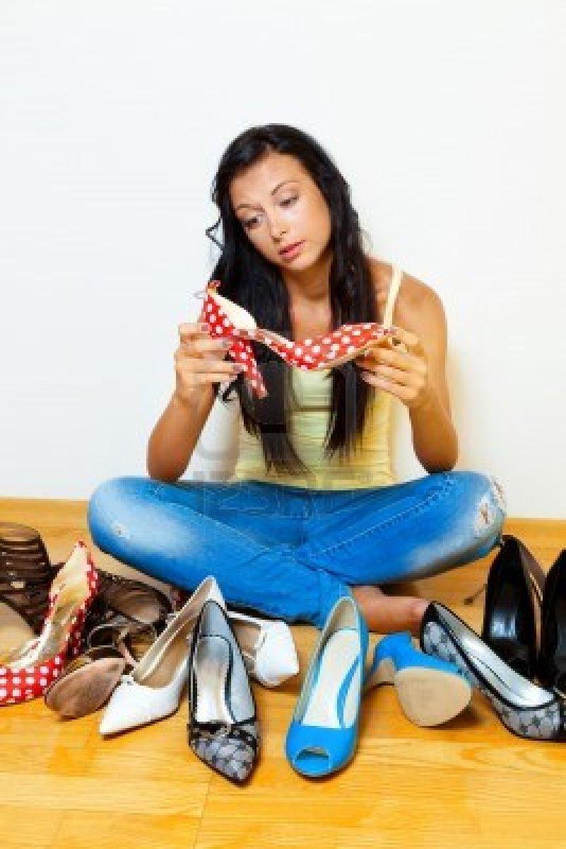 обувь о тебе  расскажет  очень много