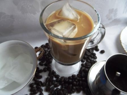 холодный кофе по вьетнамски