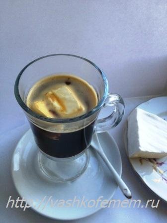 сыр и кофе вкусно