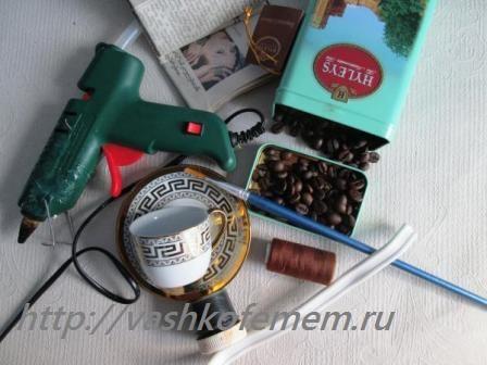 мастер класс поделки кофейные 1
