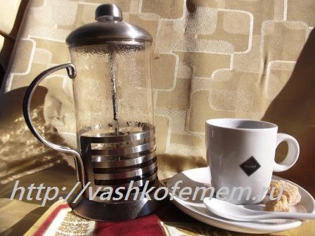 способы приготовления кофе в прессе