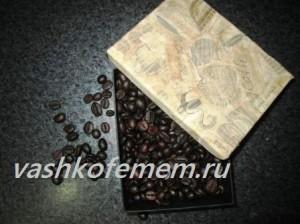 как сделать подарочную коробку для кофе 12