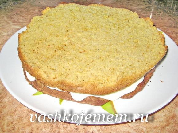 Как приготовить торт сметанник в домашних условиях