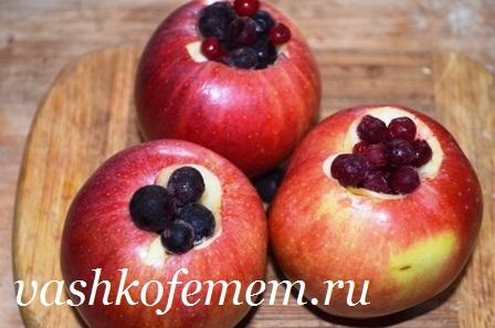 как приготовить печеные яблоки в духовке