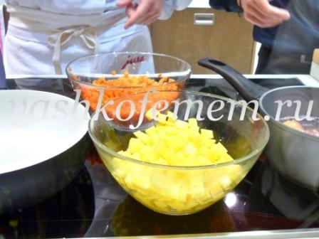 морковный суп с кофейными нотками