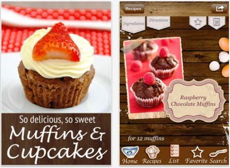 приложение для iPad maffiny-muffins-cupcakes