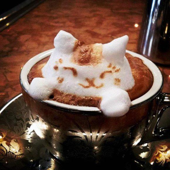 Рисунки на кофе в домашних условиях