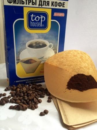 фильтр для кофеварки бумажный