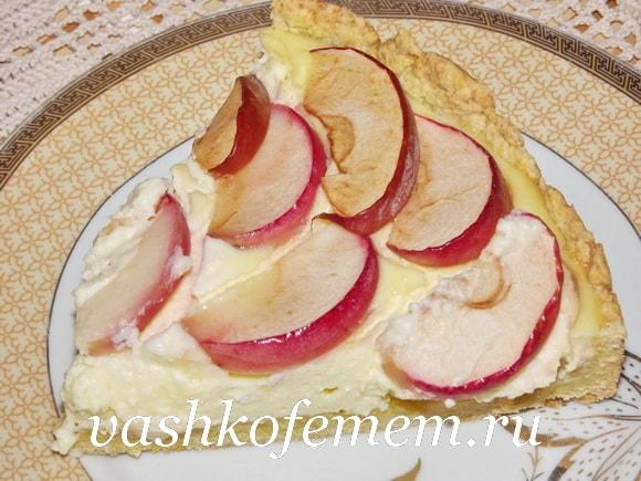 Яблочный пирог простой рецепт