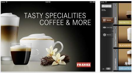 приложение для iPad от Franke Coffee Systems
